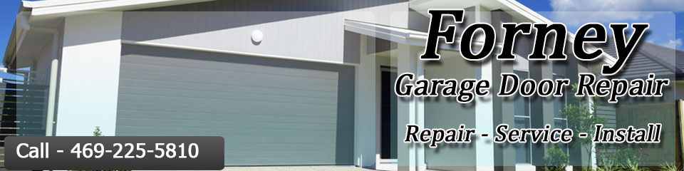 garage door repair Forney tx